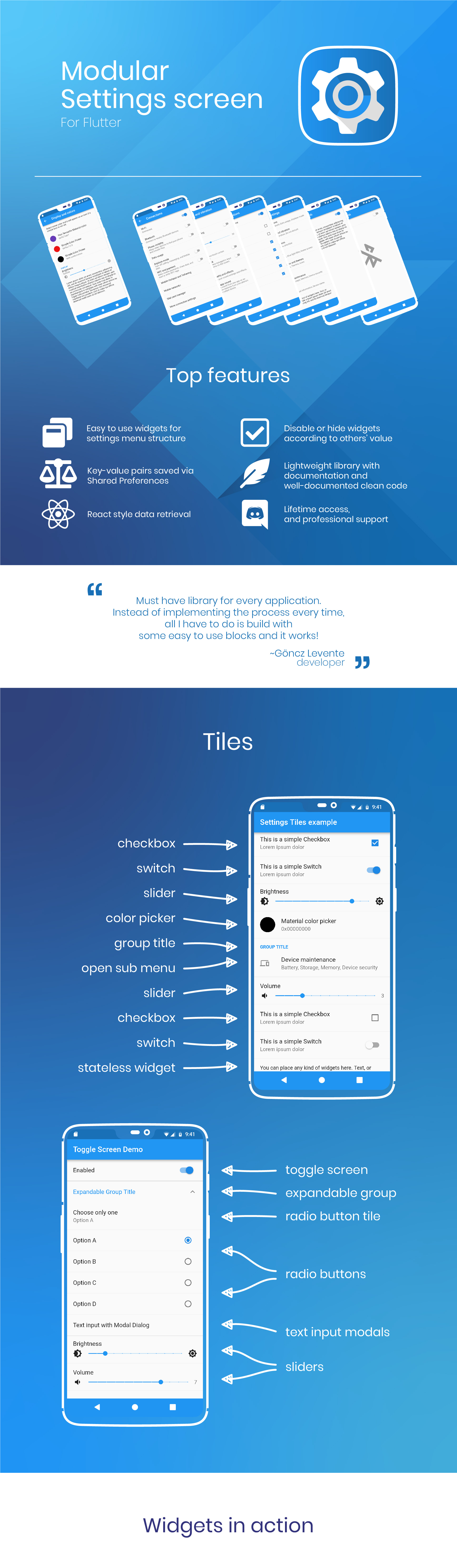 Flutter Settings Screen with Shared Preferences for Android & iOS - 3